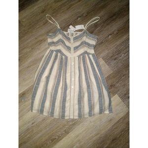Striped sun dress size XL